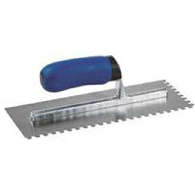 1/4X3/8X1/4 Sq Notch Trowel 49112