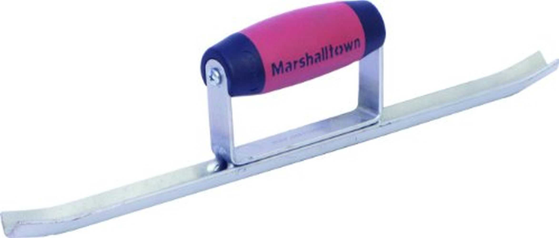 Marshalltown 610D 15'x5/8' Sled Runner Solid Half Round with DuraSoft Handle